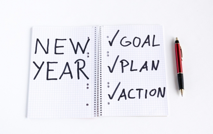 New Year's resolutions business